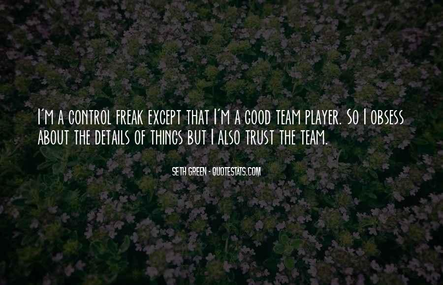 Quotes About Green Team #1405620