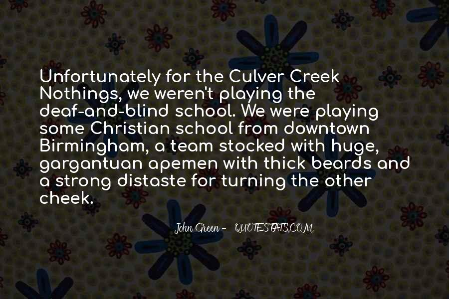 Quotes About Green Team #381140
