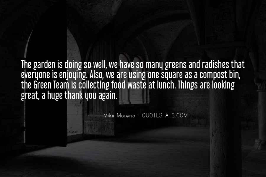 Quotes About Green Team #696644
