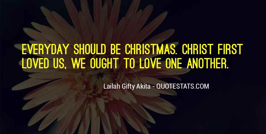 Christmas Thanks Sayings #55972
