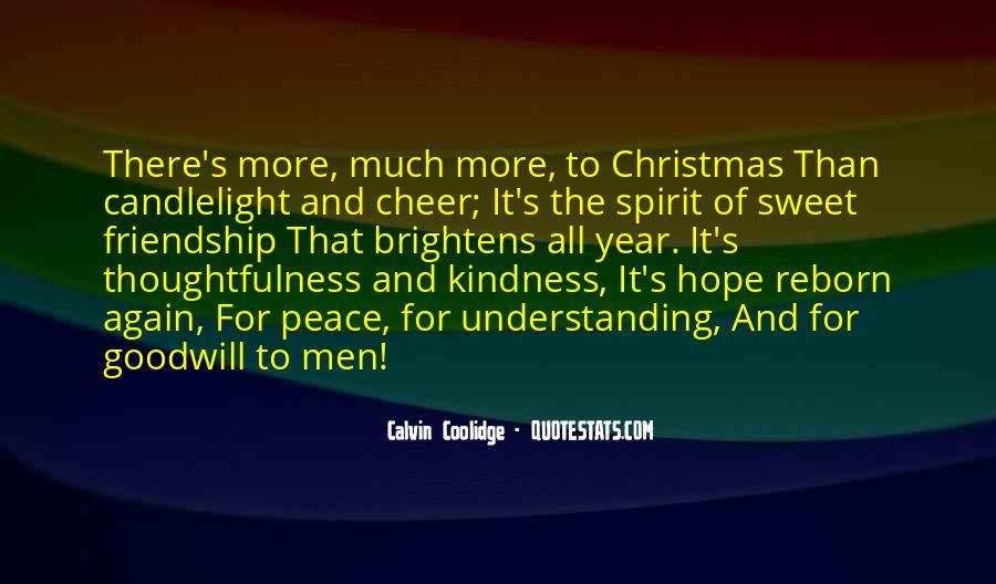 Christmas Thanks Sayings #62516