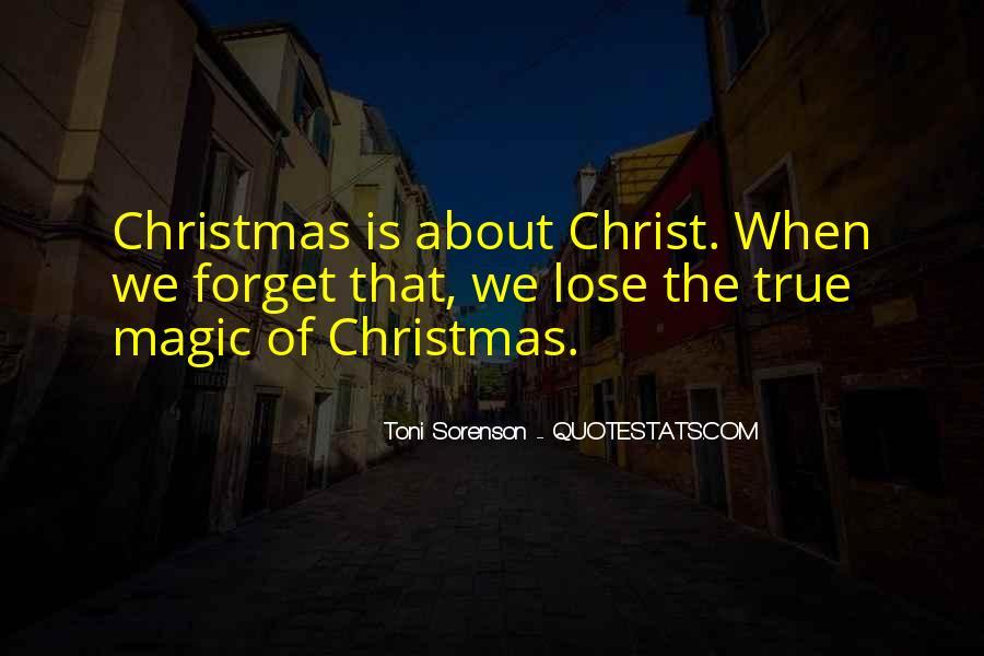Christmas Thanks Sayings #74474
