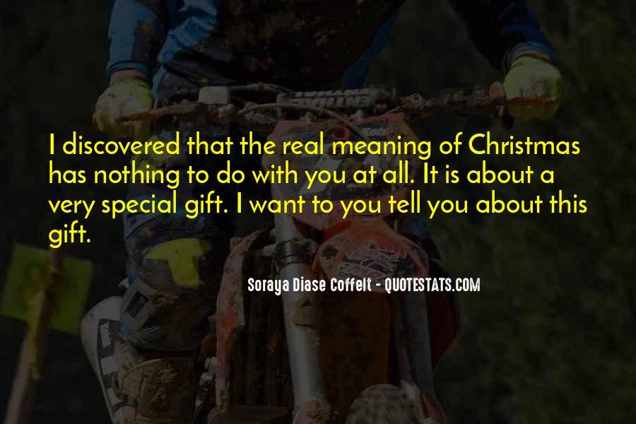 Christmas Thanks Sayings #8356
