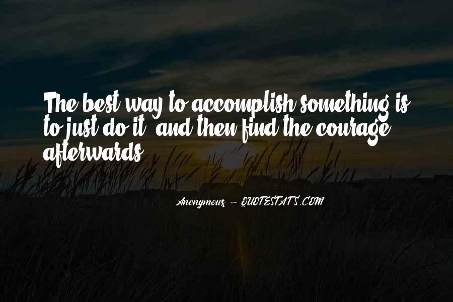 Inspirational Anonymous Sayings #101660