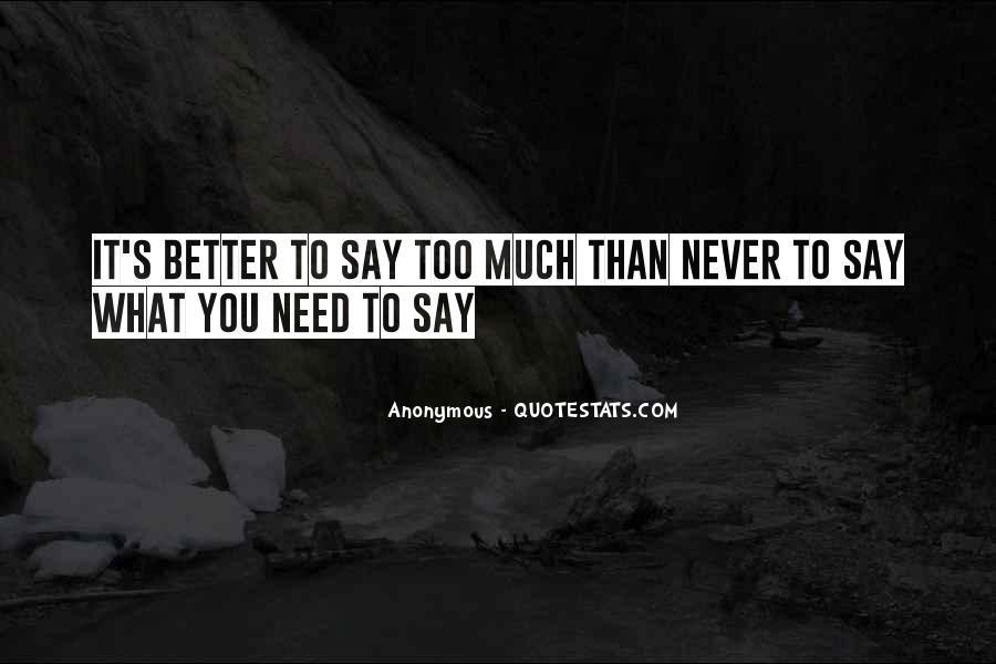 Inspirational Anonymous Sayings #270418
