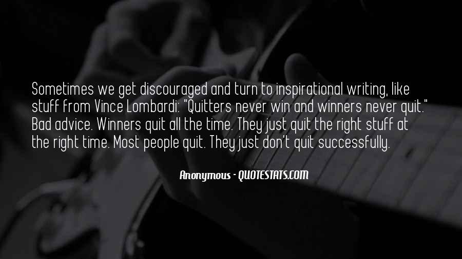 Inspirational Anonymous Sayings #414160