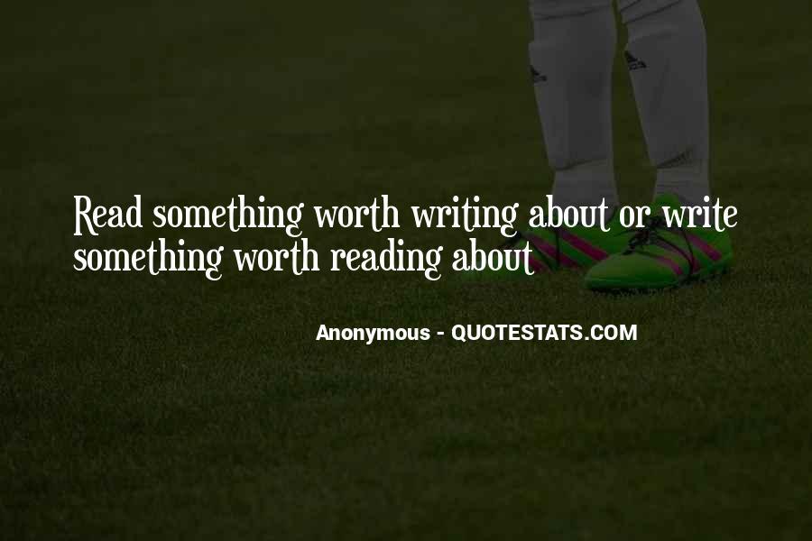Inspirational Anonymous Sayings #56654