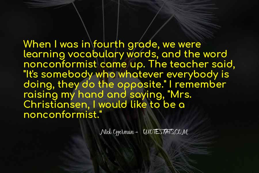 Opposite Word Sayings #1225963