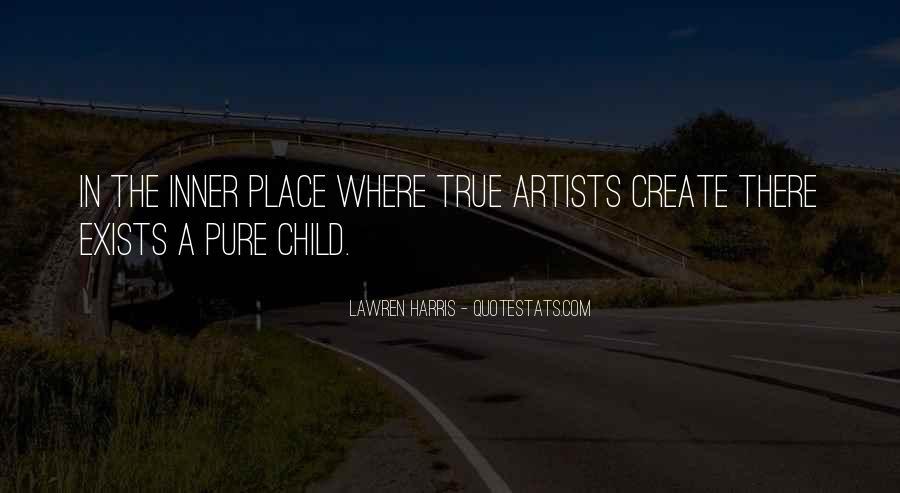 Child Artist Sayings #1106287