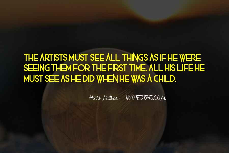 Child Artist Sayings #1132682