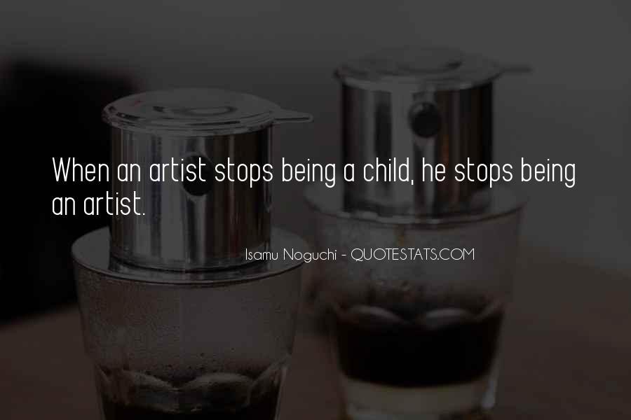 Child Artist Sayings #1168611