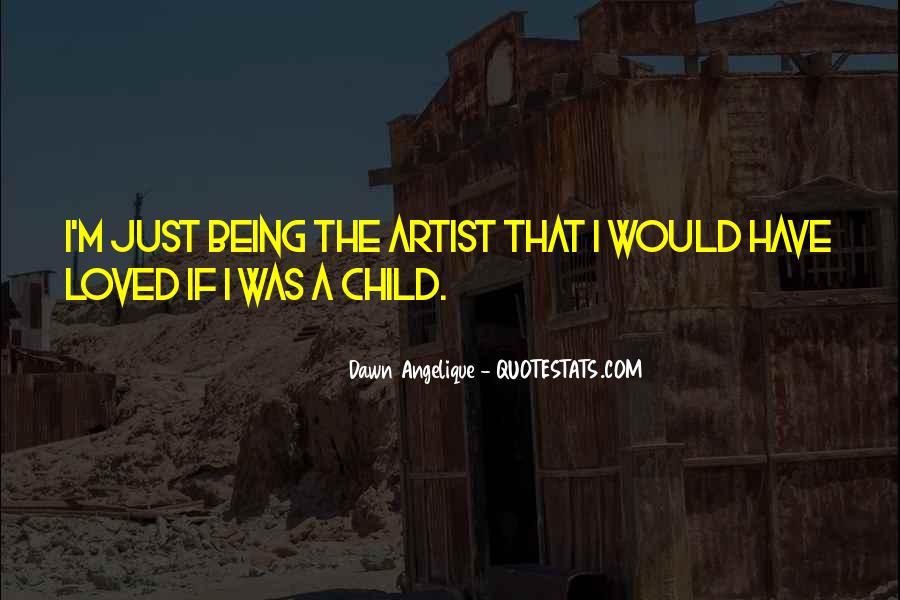 Child Artist Sayings #202364