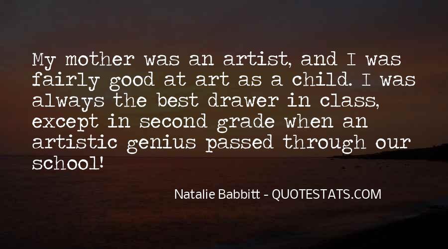 Child Artist Sayings #424135