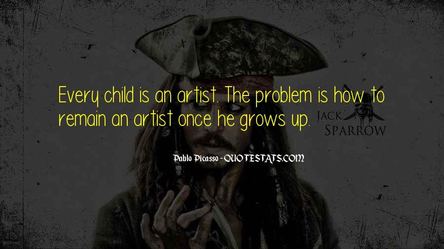 Child Artist Sayings #542584