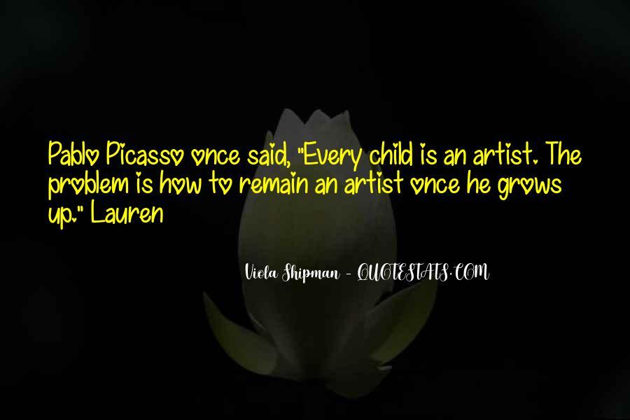 Child Artist Sayings #621732