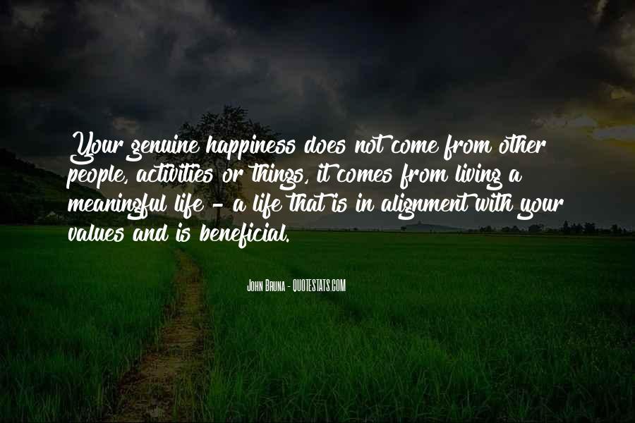 Life Values Sayings #140652