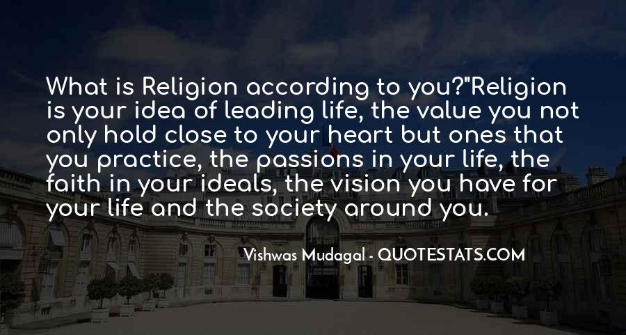 Life Values Sayings #158668