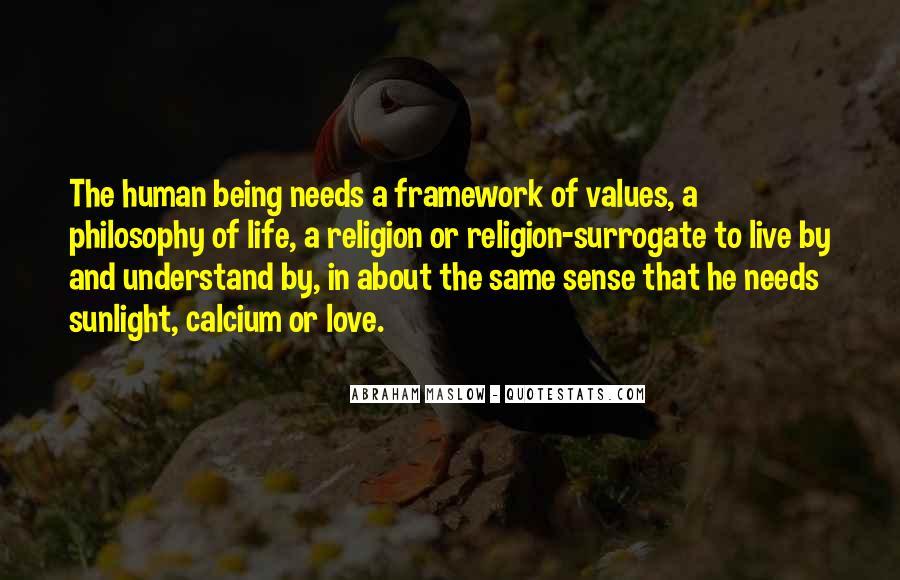 Life Values Sayings #160209