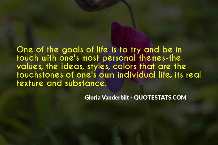 Life Values Sayings #187537
