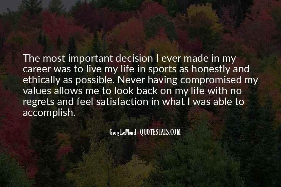 Life Values Sayings #215814