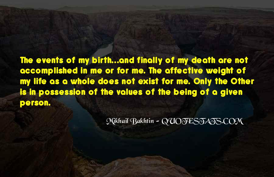 Life Values Sayings #29507