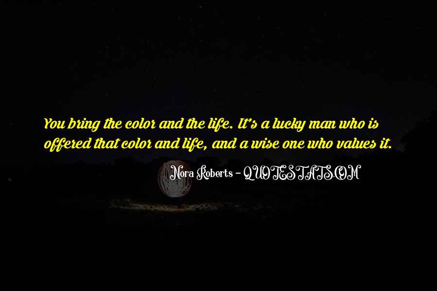 Life Values Sayings #42171