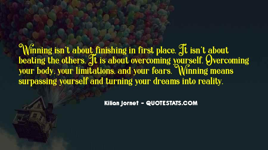 Quotes About Dreams Turning Into Reality #724645