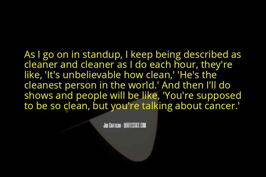 Keep It Clean Sayings #1422230