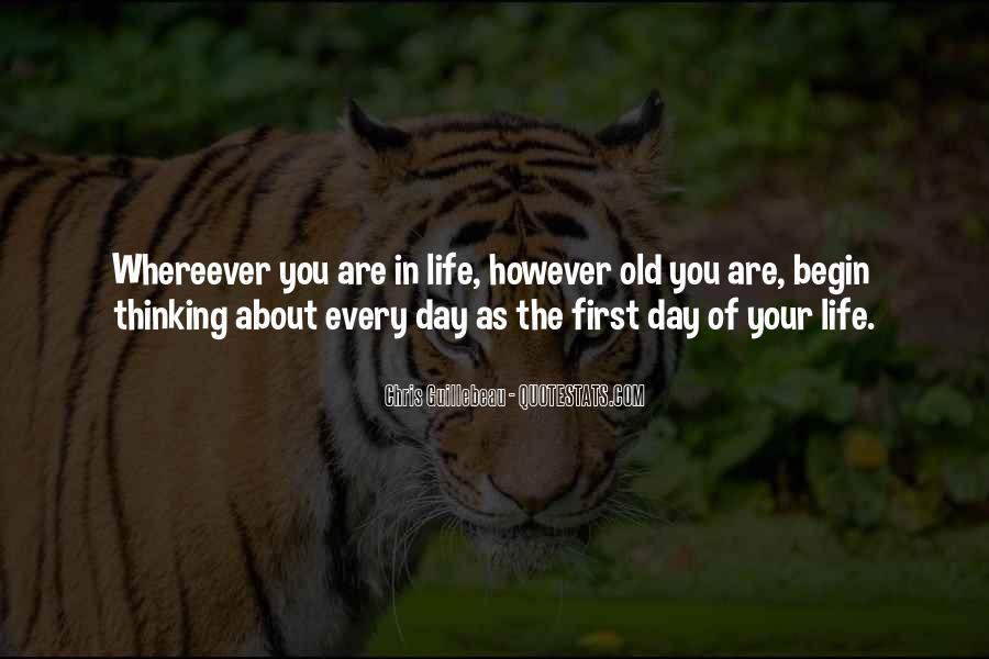 Begin Life Sayings #181362