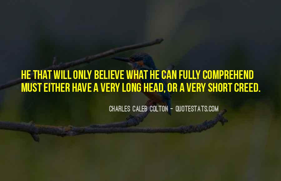 Short Believe Sayings #1392068
