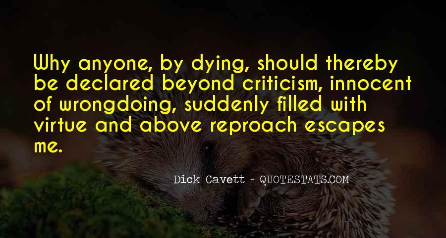 Beyond Reproach Sayings #360132