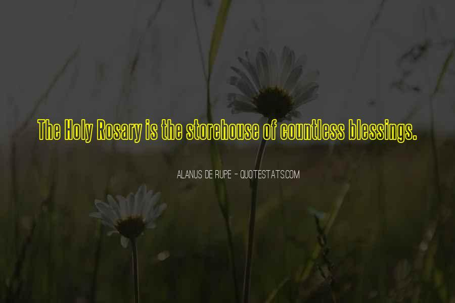 Quotes About Rosary #1442953