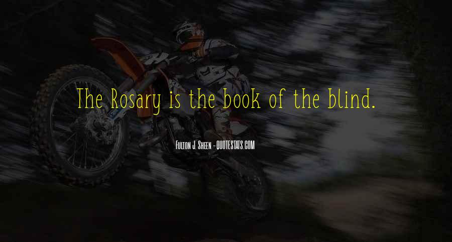 Quotes About Rosary #1534537