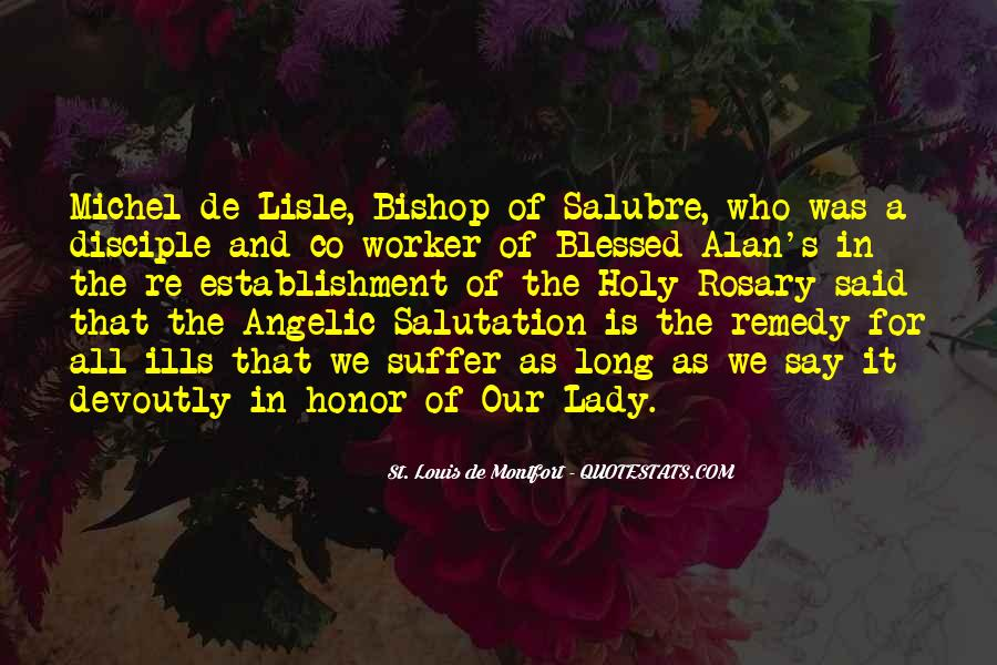 Quotes About Rosary #1564345