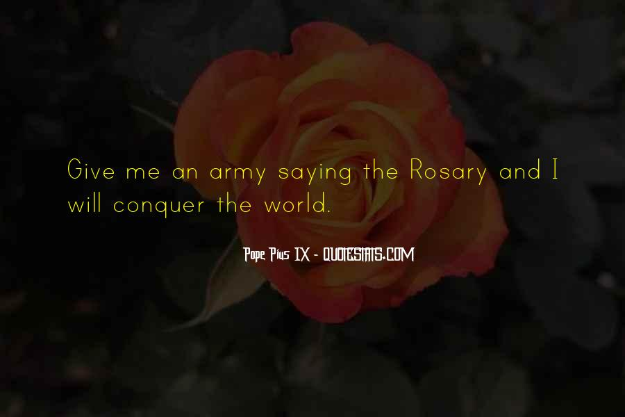 Quotes About Rosary #631001