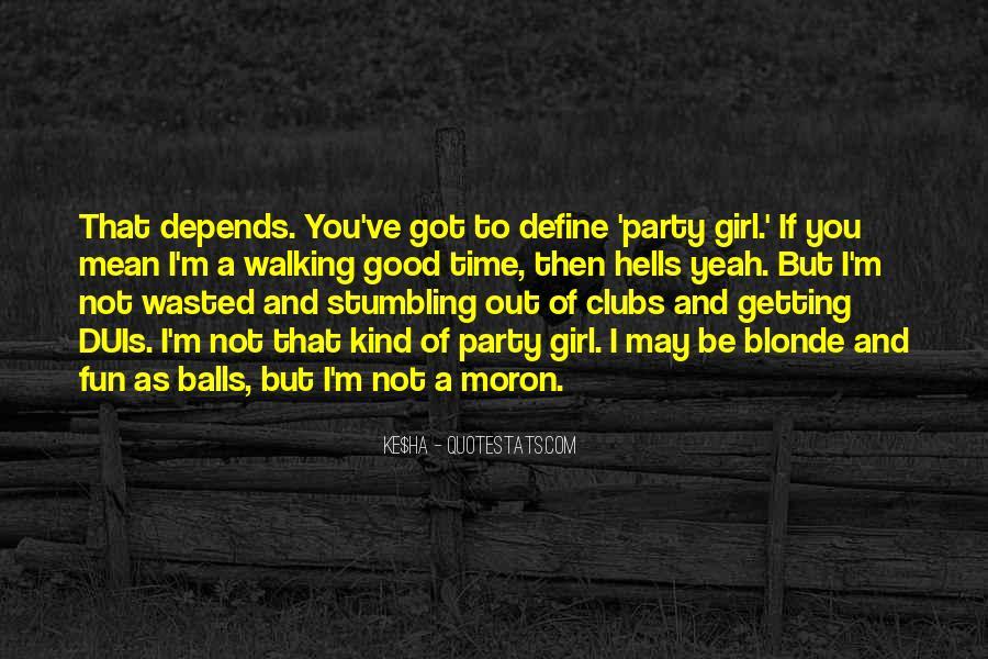 Good Blonde Sayings #869008