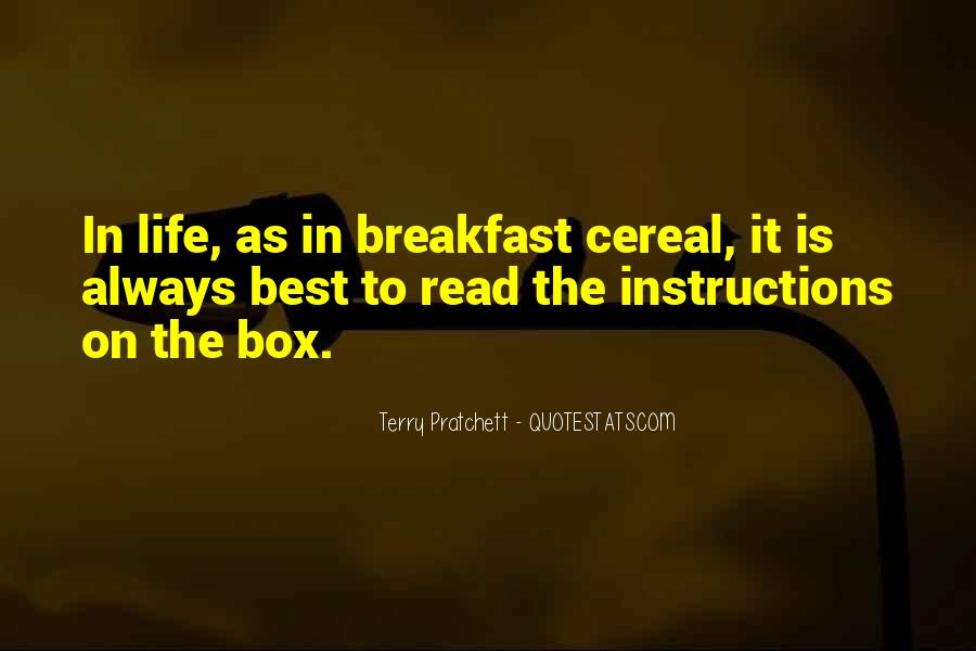 Cereal Box Sayings #1748598