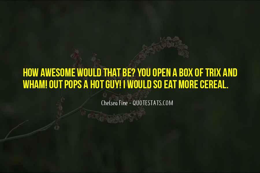 Cereal Box Sayings #664206
