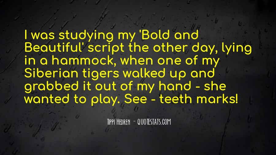 Bold Beautiful Sayings #647690