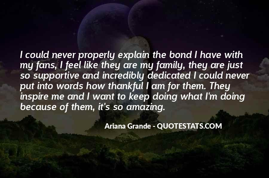 Family Bond Sayings #1118875