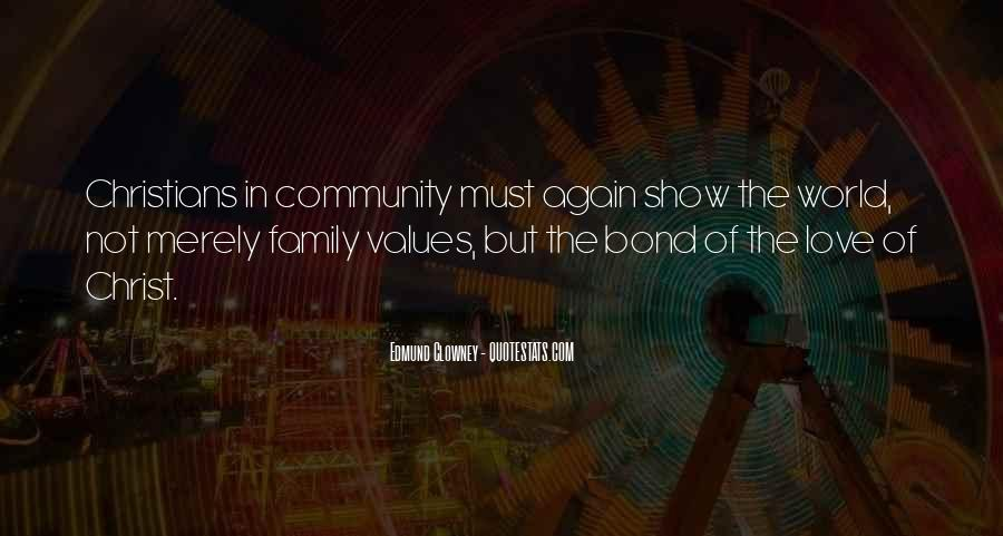 Family Bond Sayings #1304791