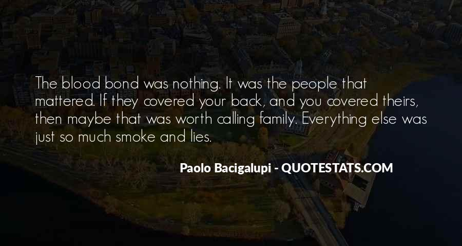 Family Bond Sayings #164023