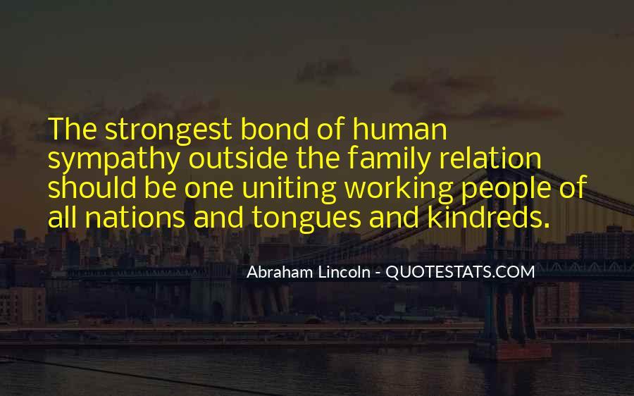 Family Bond Sayings #1711336