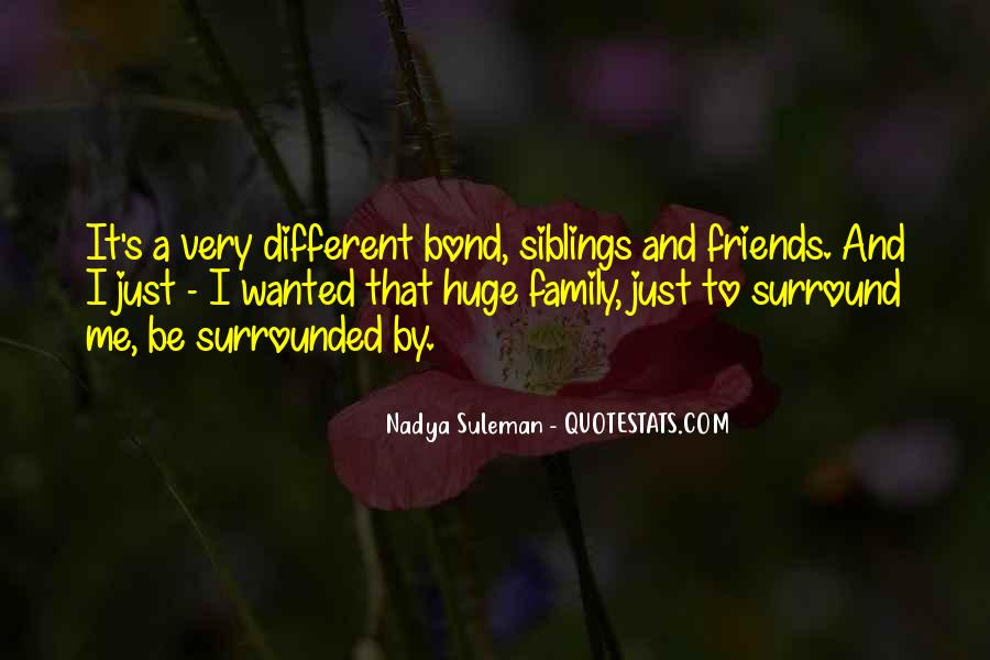Family Bond Sayings #1754588