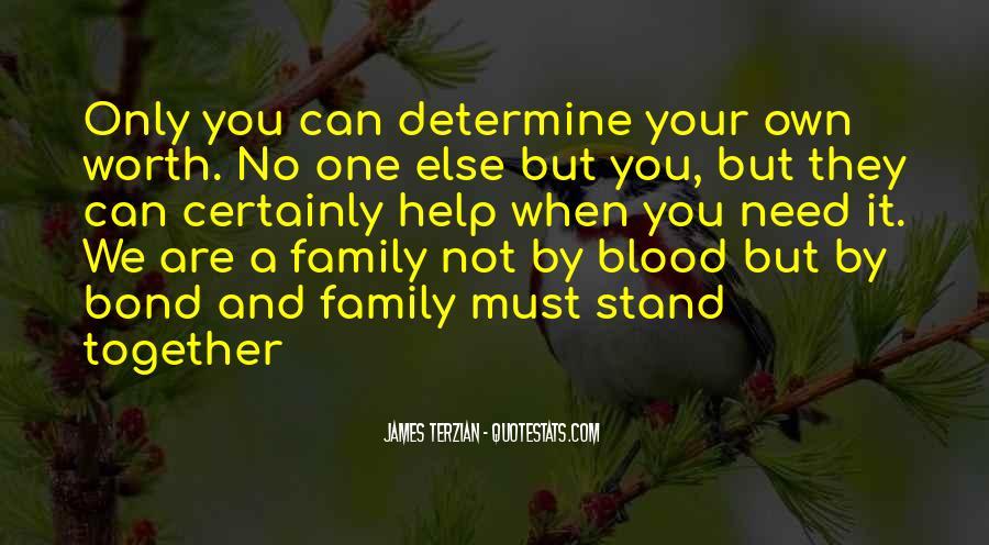 Family Bond Sayings #178206
