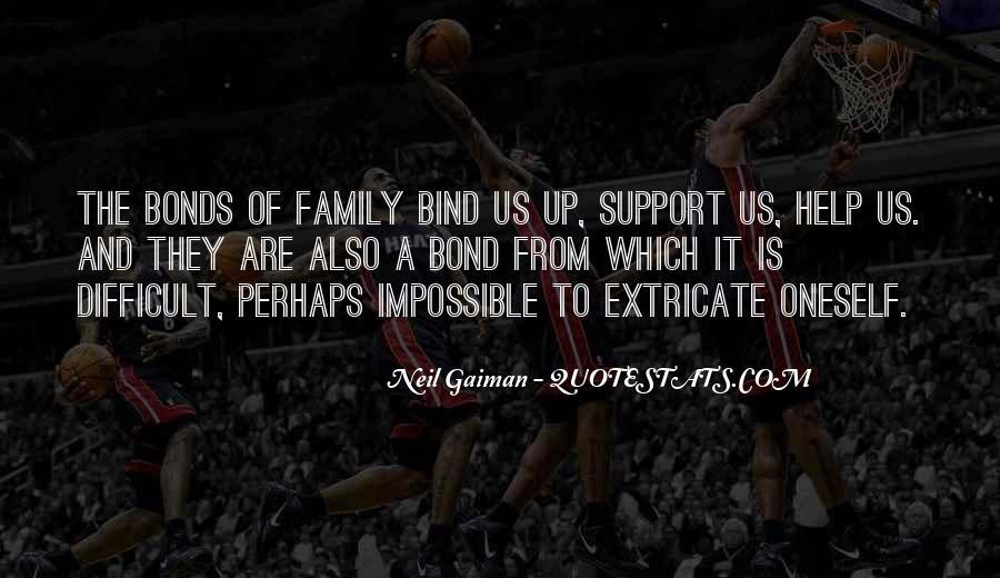 Family Bond Sayings #1806031