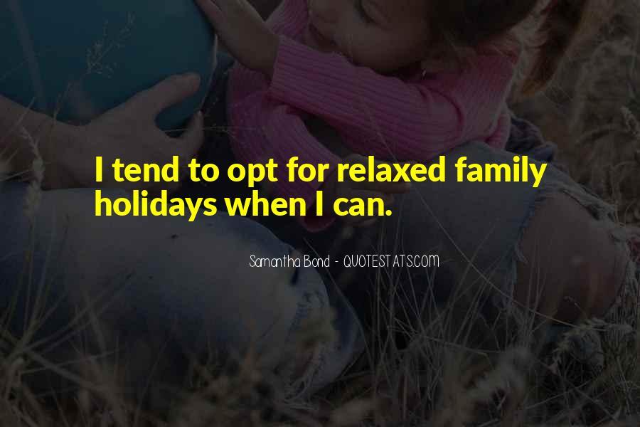 Family Bond Sayings #1813296