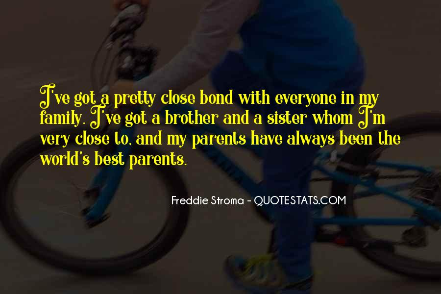Family Bond Sayings #573720