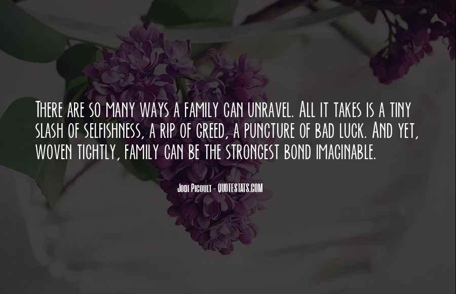 Family Bond Sayings #714869