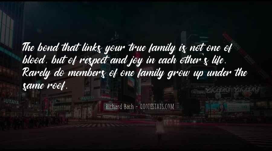 Family Bond Sayings #783167